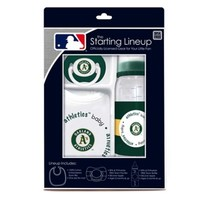 Baby Fanatic® MLB Oakland A's Baby Essentials Gift Set
