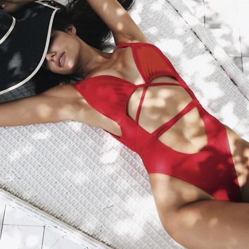 The Power Body One piece Miami swimwear
