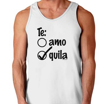 Tequila Checkmark Design Loose Tank Top  by TooLoud