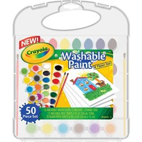 Crayola Washable Paint & Paper Set