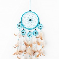 Small Turquoise Wall Hanging
