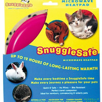 Snuggle Safe Microwave Heating Pad for Dogs & Cats