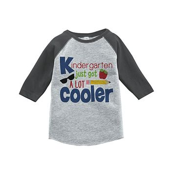 Custom Party Shop Kids Kindergarten School Raglan Tee