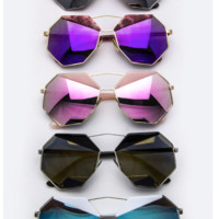 Iconic Fashion Angular Women's Sunglasses