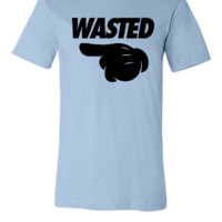 Wasted Pointing Left