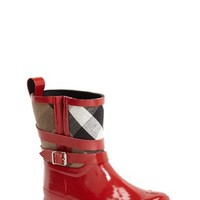 Toddler Girl's Burberry 'Holloway' Rain Boot