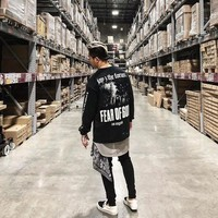 Fear Of God Hoodie Women Men 1:1 High Quality New 4:44 Fashion No hat Cotton Justin Bieber Pullover Hip Hop Fear Of God Hoodies