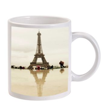 Gift Mugs | Paris Eiffel Tower Ceramic Coffee Mugs