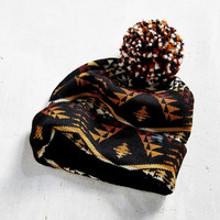 Pendleton Patterned Pom Beanie - Urban Outfitters