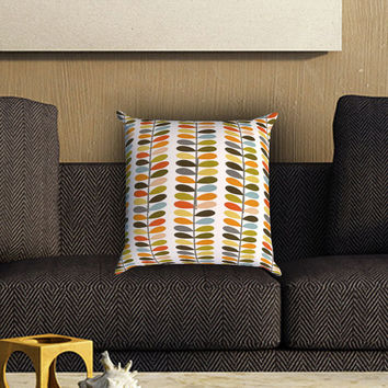 orla kiely pattern Pillow Cover , Custom Zippered Pillow Case One Side Two SIde