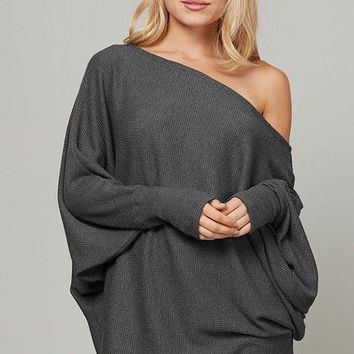 Fleur Ribbed Knit Sweater