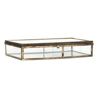 H&M Glass Jewelry Box $29.99