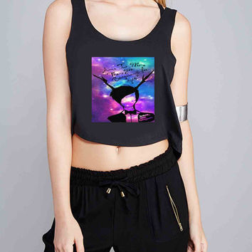 Fall Out Boy Quote for Crop Tank Girls S, M, L, XL, XXL *07*