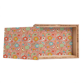 Heather Dutton Adora Paisley Jewelry Box