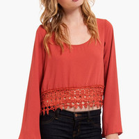 Caroline Cropped Blouse $28