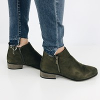 Jack Frost Bootie - Olive