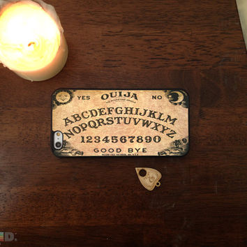 Ouija Spirit Board Phone Case with Free Keychain, Custom Phone Case for iPhone 4/4s, 5/5s, 6/6s, 6/6s+ and iPod Touch 5