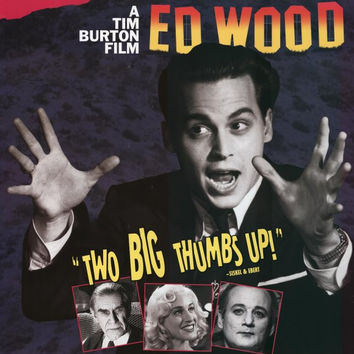 Ed Wood 11x17 Movie Poster (1994)