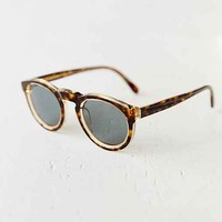 SUPER Paloma Sagoma Round Sunglasses- Brown One