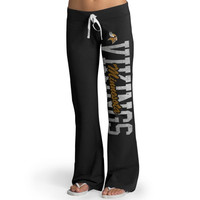 Minnesota Vikings '47 Brand Womens Pep Rally Pants – Black