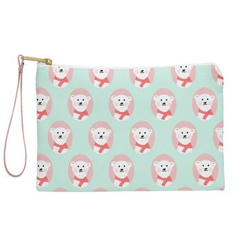 Allyson Johnson Polar Bears Pouch
