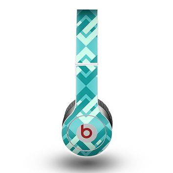 The Locking Green Pattern Skin for the Beats by Dre Original Solo-Solo HD Headphones