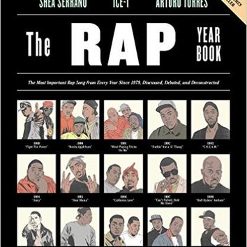 The Rap Year Book: The Most Important Rap Song From Every Year Since 1979, Discussed, Debated, and Deconstructed Paperback – October 13, 2015