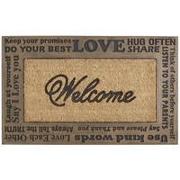 Words of Welcome Doormat
