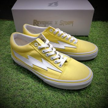Revenge X Storm Pop up Store Yellow Sneaker Casual Shoes