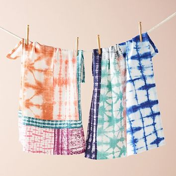 Dyed Dish Towel Set