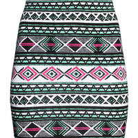 Patterned Skirt - from H&M