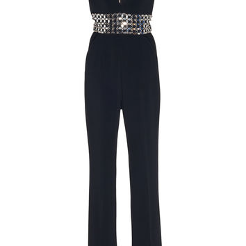 Embroidered Waistband Jumpsuit | Moda Operandi