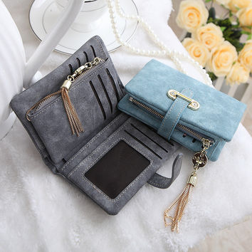 Small Wallet Casual Women Wallets Slim Wallet Coin Purse Portefeuille Card Holder Wallet For Women Purses 16Y04-20