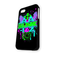 BLINK 182 Rock Band Ava iPhone 5/5S Case