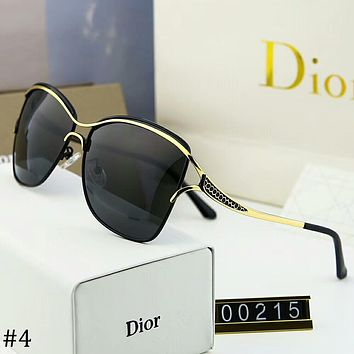 DIOR 2018 Men's and Women's Size Polarized Sunglasses Sunglasses F-A-SDYJ #4