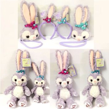 New Stellalou plush toys Cartoon Rabbit stuffed animals and plush Stella Lou Friend of Duffy Bear gifts
