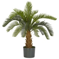 SheilaShrubs.com: Cycas Silk Plant 6099 by Nearly Natural : Artificial Flowers & Plants