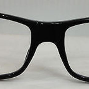 NEW AUTHENTIC GIORGIO ARMANI GA 901 COL XZP BLACK PLASTIC EYEGLASSES FRAME 53MM
