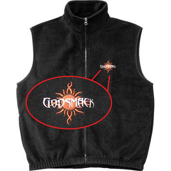 Godsmack Men's  Vest Black Rockabilia