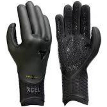 Xcel Drylock 5mm five finger glove