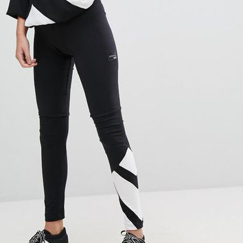 adidas Originals EQT Legging In Black And White