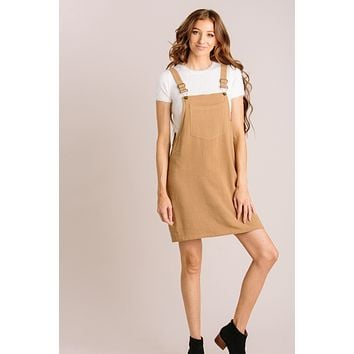 Octavia Overall Mini Dress