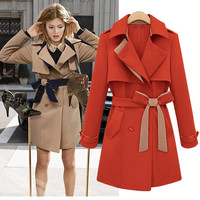 Butterfly belt fashion jacket coat JCFDA