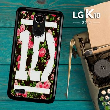 1D One Direction Floral V0288 LG K10 2017 / LG K20 Plus / LG Harmony Case