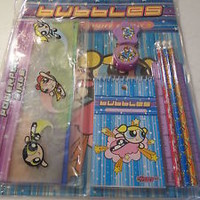 NEW POWERPUFF GIRLS STATIONERY SET VALUE PACK FOLDER PENCILS SCHOOL SUPPLIES