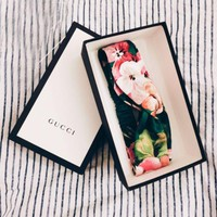 GUCCI Blooming Women Hold Elegant Printed Silk Headband F