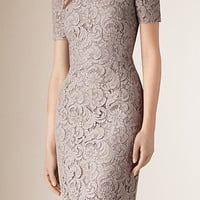 French Lace Shift Dress