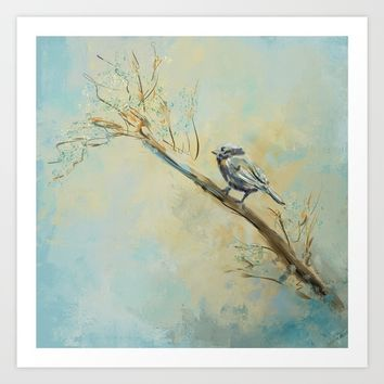 Little Bird 5602 Art Print by Jai Johnson