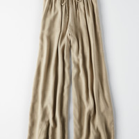 AE High-Waisted Palazzo Pant, Olive