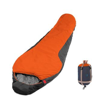 CAMTOA Mummy Sleeping Bag Ultra-Compactable Sleeping Bag 3 Season, Lightweight, Compression Stuff Sack Envelope Sleeping Bag